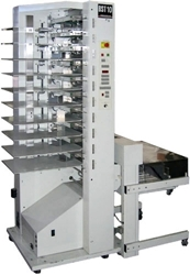 Picture of C.P. Bourg BST 10 Bin Collator / Stacker