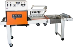 Picture of Belco STC-2016 Shrink Wrap Machine used Belco STC 2016 Shrink Wrap Machine